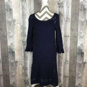 Lilly Pulitzer Shauna Crochet Tunic Dress M EUC